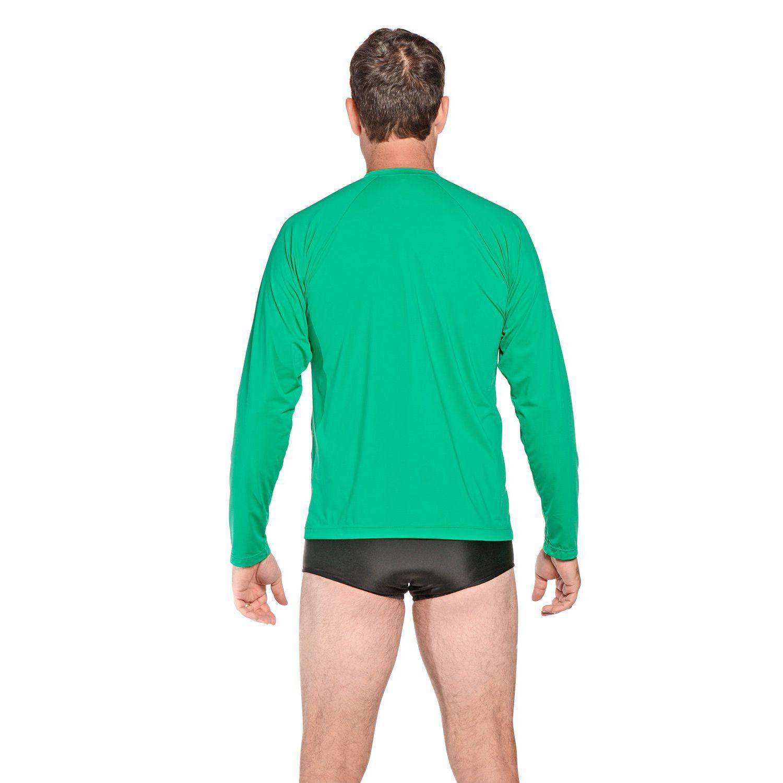 Camiseta Masculina Manga Longa UV 50+ Verde