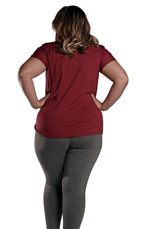 Camiseta Plus Size New Trip Marçala