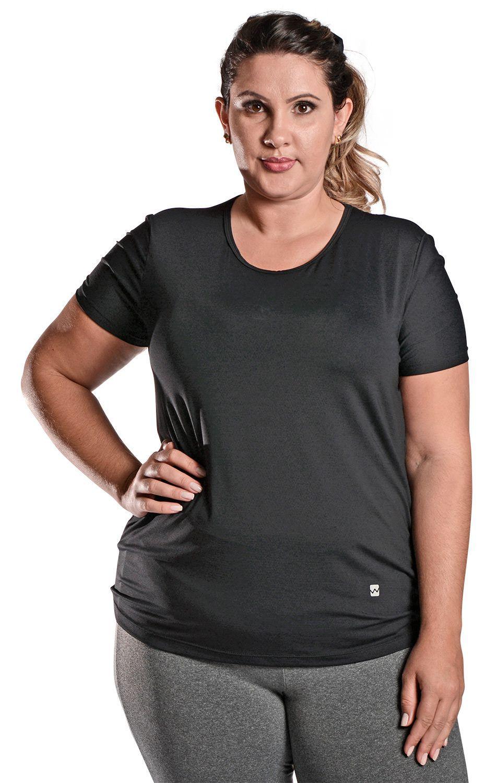 Camiseta Plus Size New Trip Preto