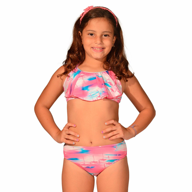 Conjunto Infantil Patricia Flamingo