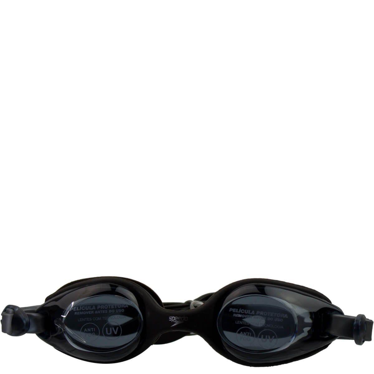 Óculos de Natação Infantil Speedo Jr Olympic Preto