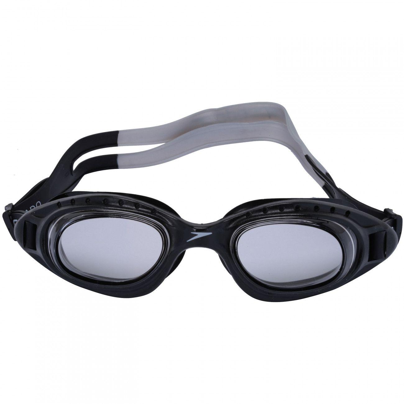 Óculos de Natação Adulto Speedo Tornado Preto