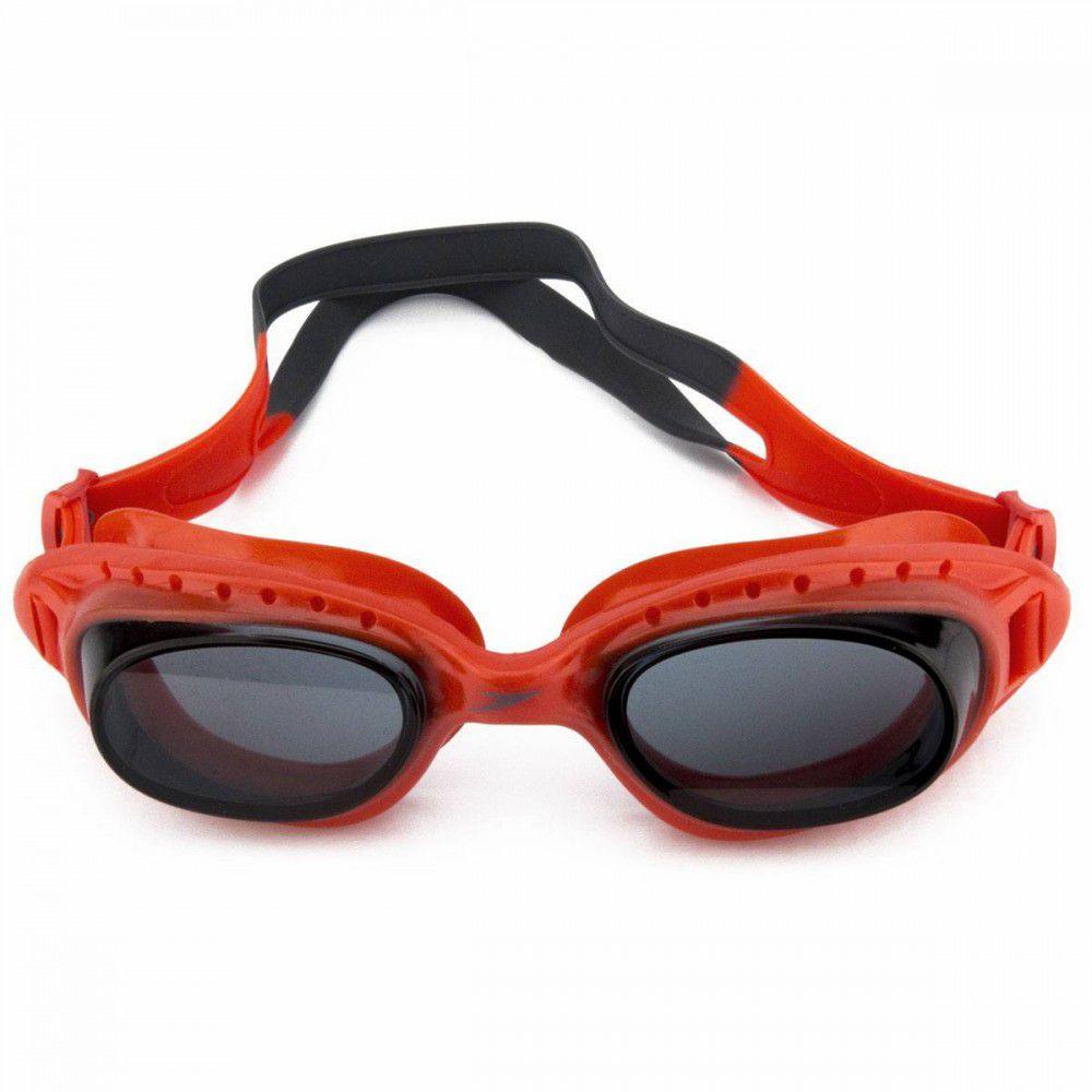 Óculos de Natação Adulto Speedo Tornado Vermelho