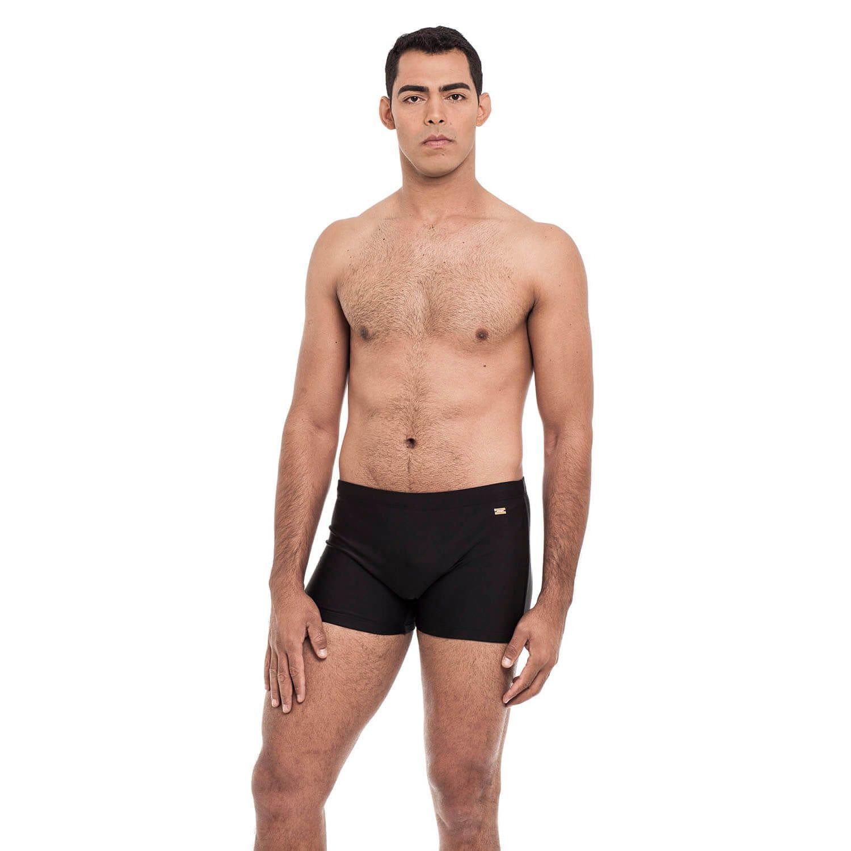 Sunga Adulto Boxer Masculina Preto