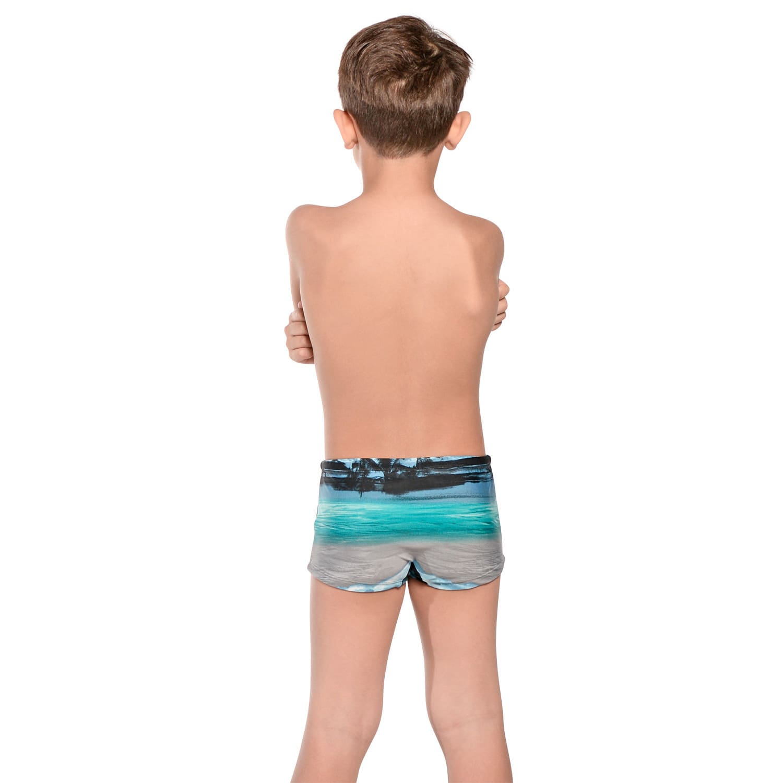 Sunga Infantil Boxer Havaí