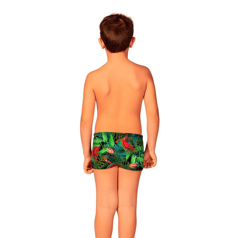 Sunga Infantil Boxer Melancia