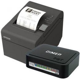 Kit SAT Dimep D-SAT 2.0 + Impressora de Cupom Epson TM-T20 (USB)