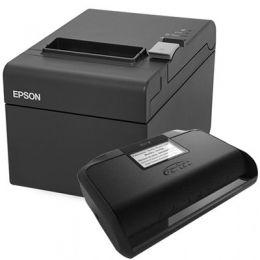 Kit SAT Gertec Gersat + Impressora de Cupom Epson TM-T20 (USB)