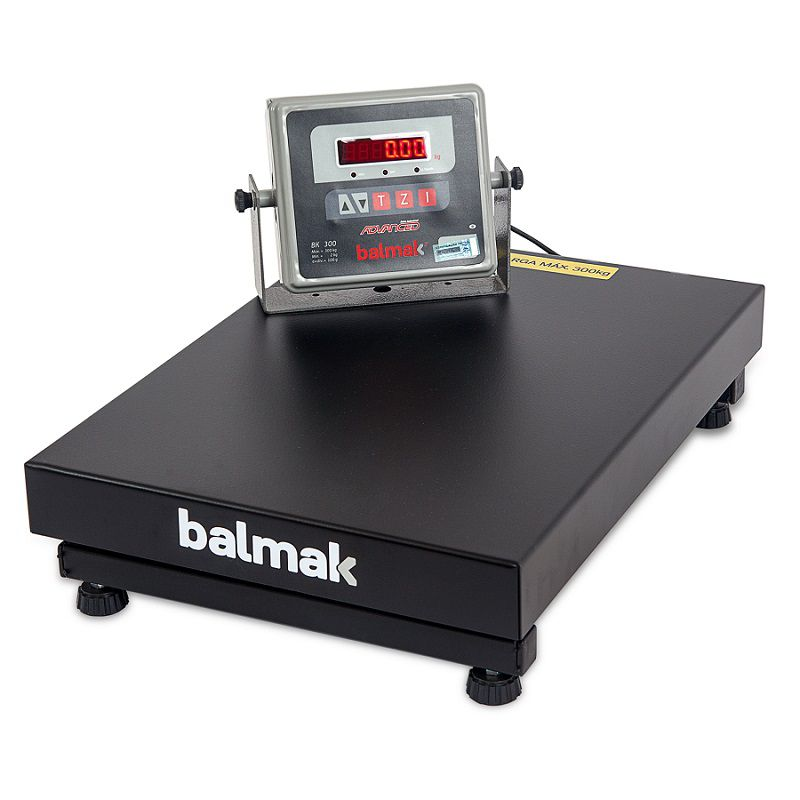 Balança de Plataforma Balmak BK-300 (300Kgx100g) (40cmx55cm)