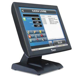 """Computador Touch Screen 15"""" Tanca TPT-640"""