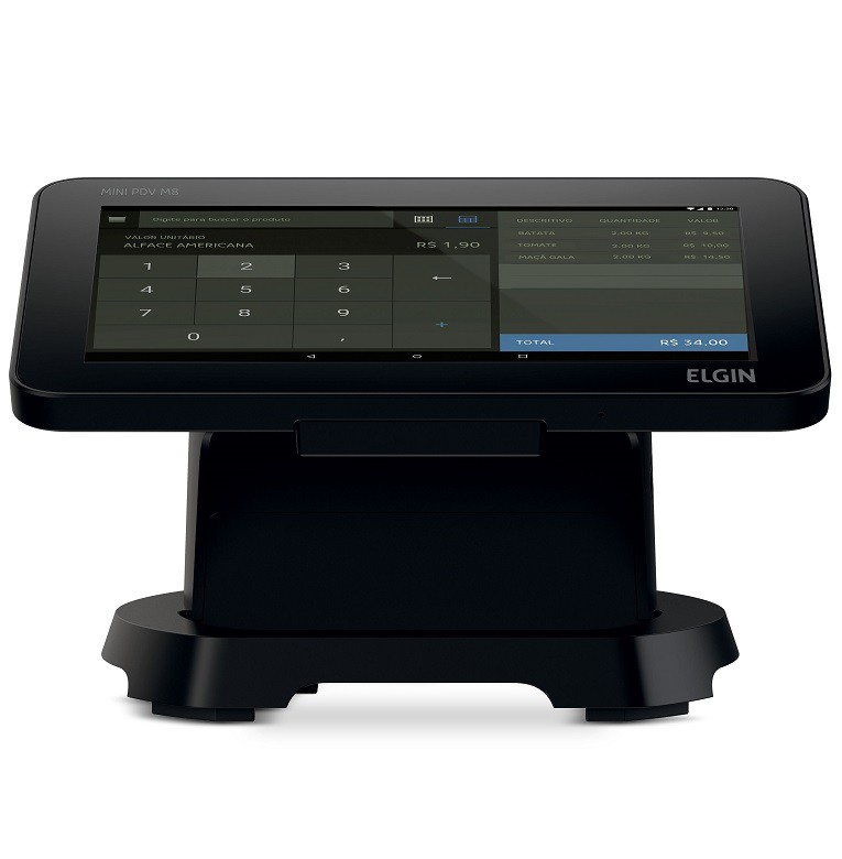 Computador Touch Screen Elgin M8 (Impressora Integrada)