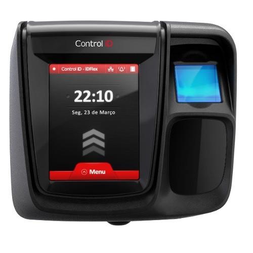 Controlador de Acesso Control ID iDClass iDFlex Pro (Bio/Prox)