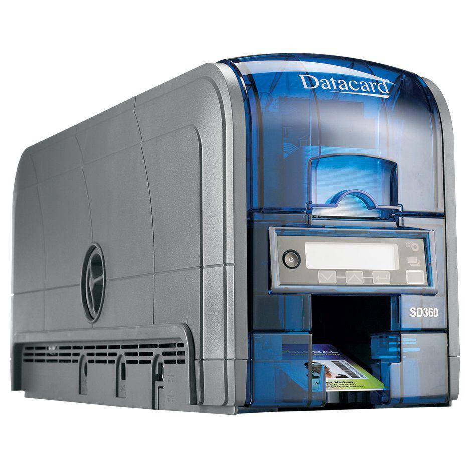Impressora de Cartões Datacard SD360 (Frente/Verso)