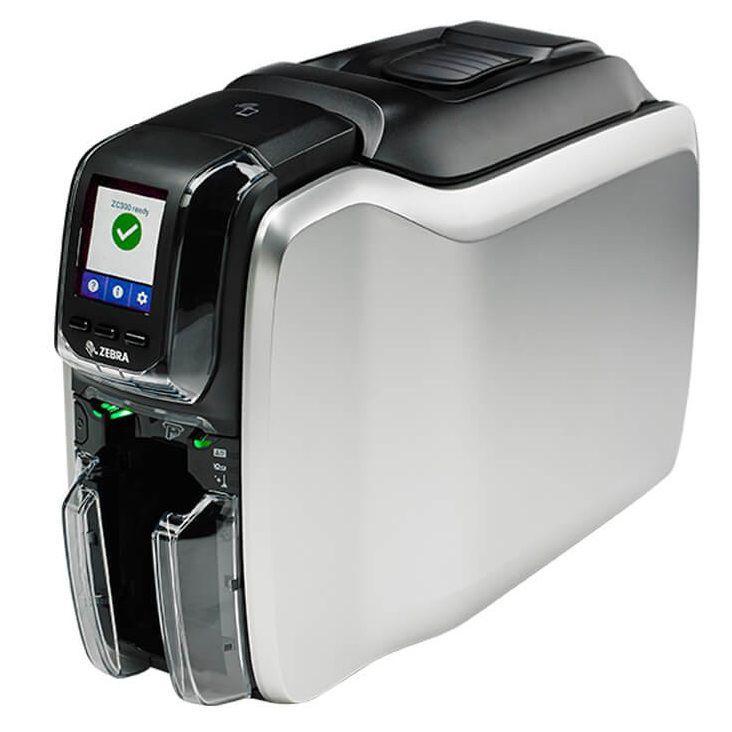 Impressora de Cartões Zebra ZC300 - 2 Lados - USB/Ethernet
