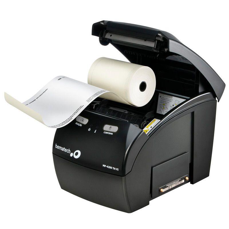 Impressora Térmica de Cupom Não Fiscal Bematech MP 4200 TH + Placa Ethernet