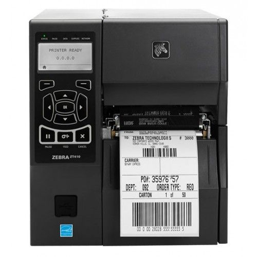 Impressora de Etiquetas Zebra ZT410 (USB/Ethernet/Bluetooth)