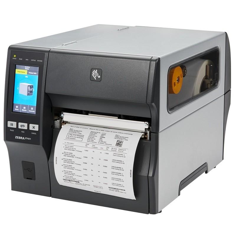 Impressora de Etiquetas Zebra ZT421 (USB/Serial/Ethernet/Bluetooth)