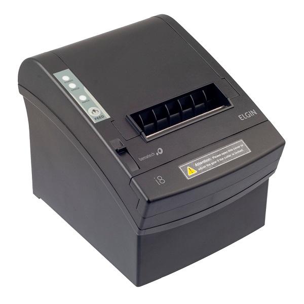 Impressora Térmica de Cupom Elgin i8 (USB/Serial/Ethernet)
