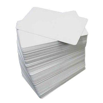 Kit Cartões PVC Branco 30 mils - 500 unidades - Datacard / Zebra