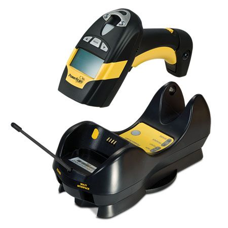 Leitor de Código de Barras Industrial Sem Fio 1D Datalogic PowerScan PM8300