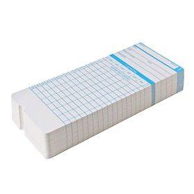 Pacote de Cartões Para Relógio de Ponto Cartográfico Trix (50 Un)