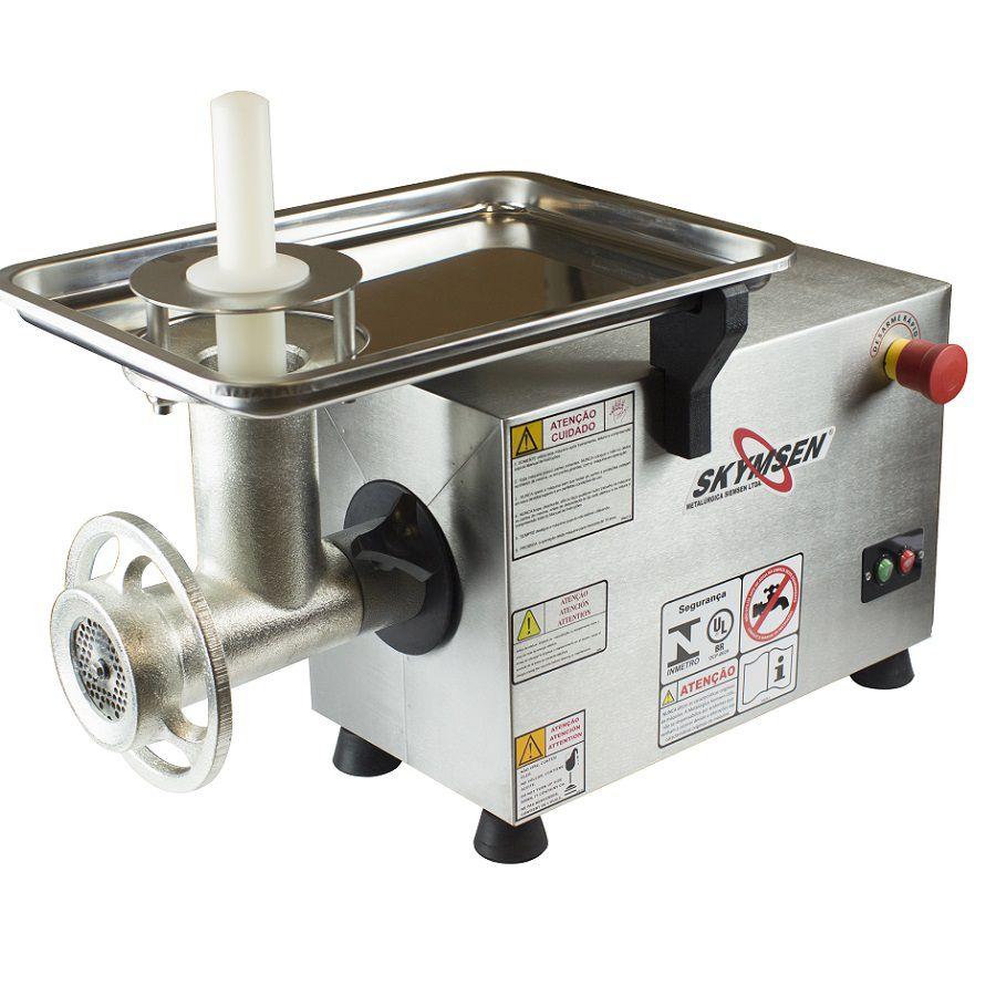 Picador de Carne Inox Skymsen PS-10 - 220v