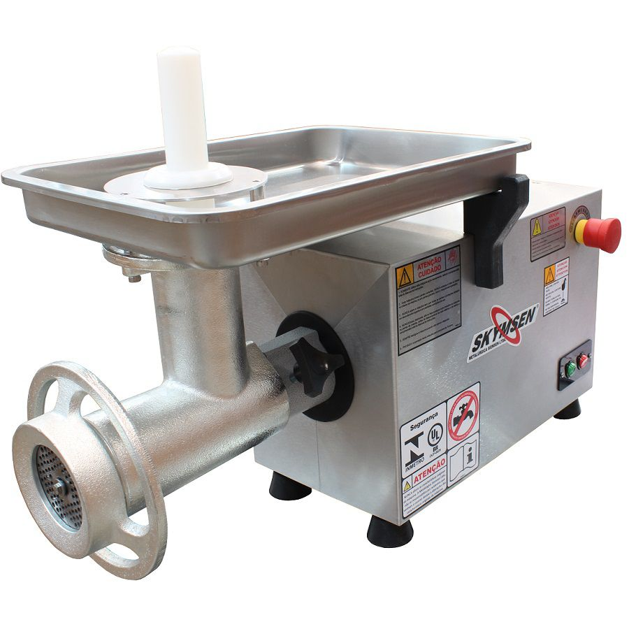 Picador de Carne Inox Skymsen PS-22 - 220v