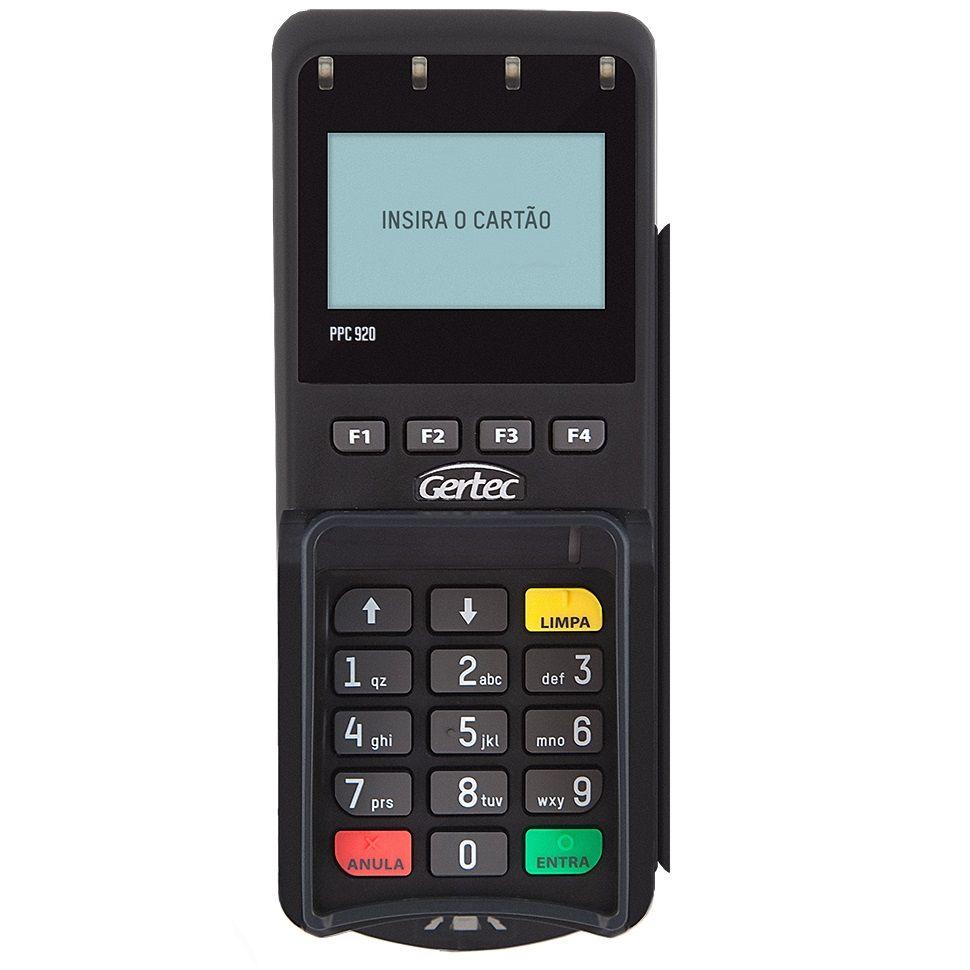 Pin Pad Gertec PPC 920 (USB/Serial)