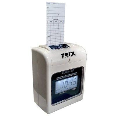 Relógio de Ponto Cartográfico Trix XCard 400