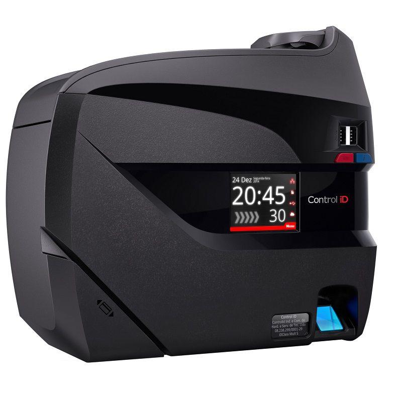 Relógio Eletrônico de Ponto Control ID iDClass 373 (Biometria + Proximidade) - Sem Impressão