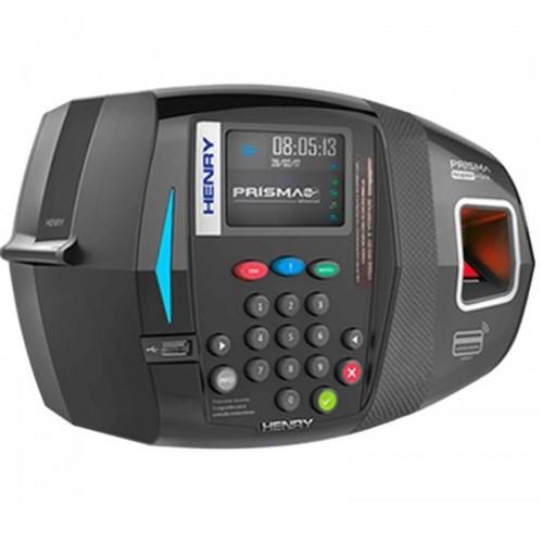Relógio Eletrônico de Ponto Henry Prisma Super Fácil ADV R2 (Biometria + Proximidade)