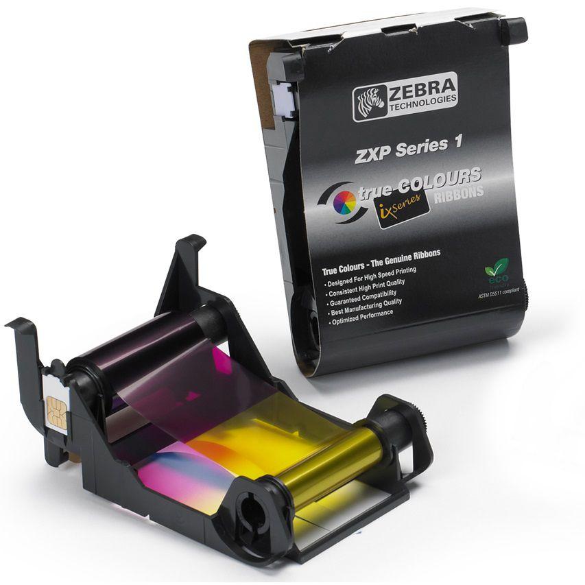 Ribbon Colorido para Cartões - Zebra ZXP1 - 100 Imagens