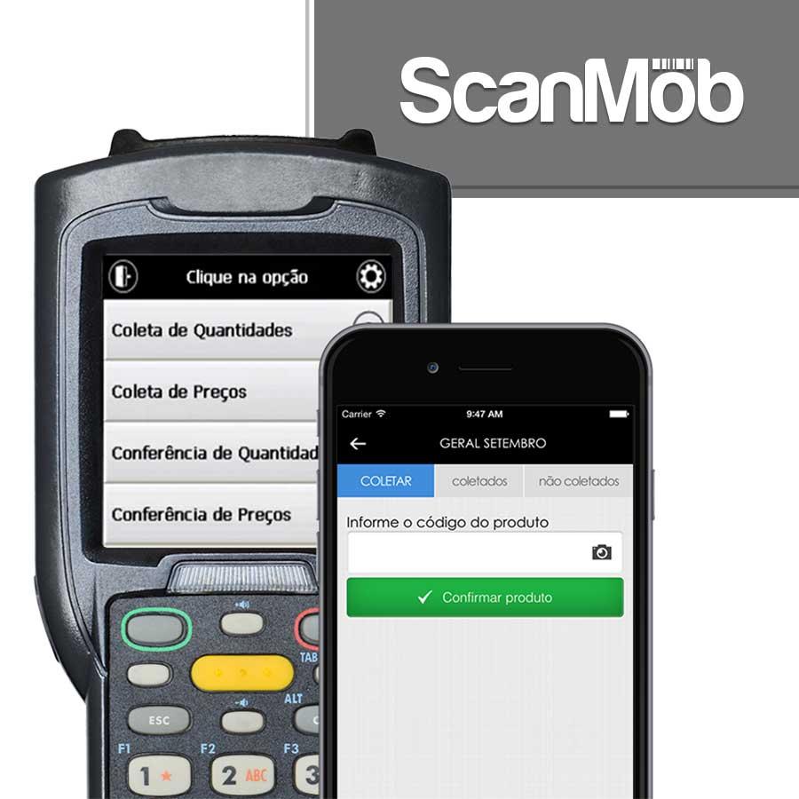 Software Para Coleta e Conferência de Dados ScanMob