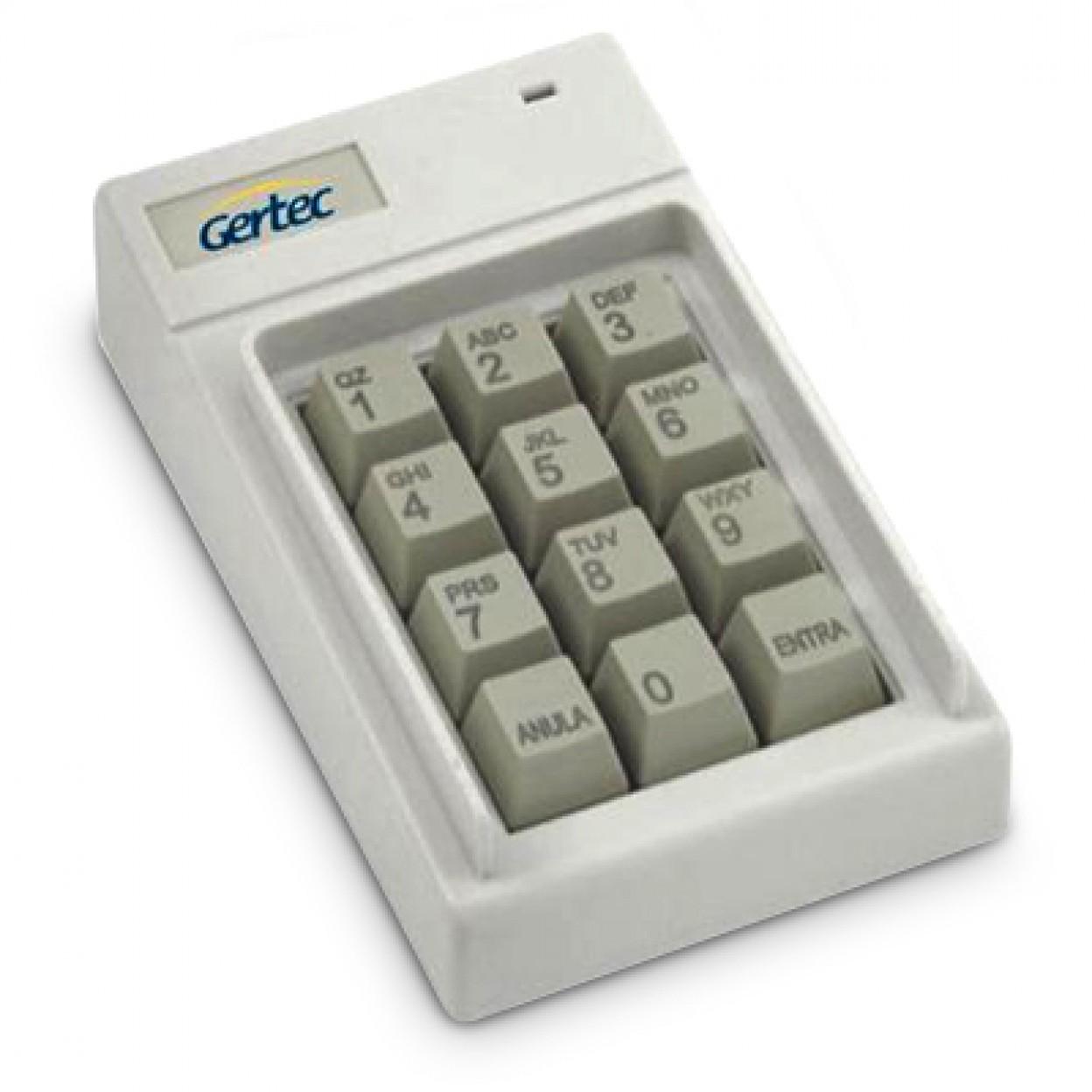 Teclado Gertec TEC 12 (PS2)