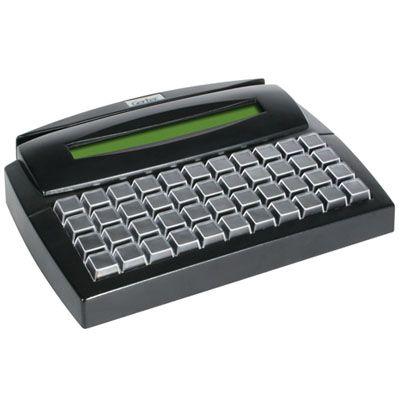 Teclado Gertec TEC-E 44 (Display/Preto/USB)