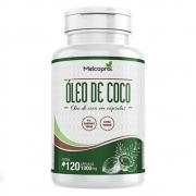 Óleo de Coco - Extra Virgem - 120 Cápsulas - Melcoprol