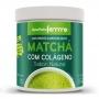 Matchá Com Colágeno - Sabor Natural - 200g - Apisnutri