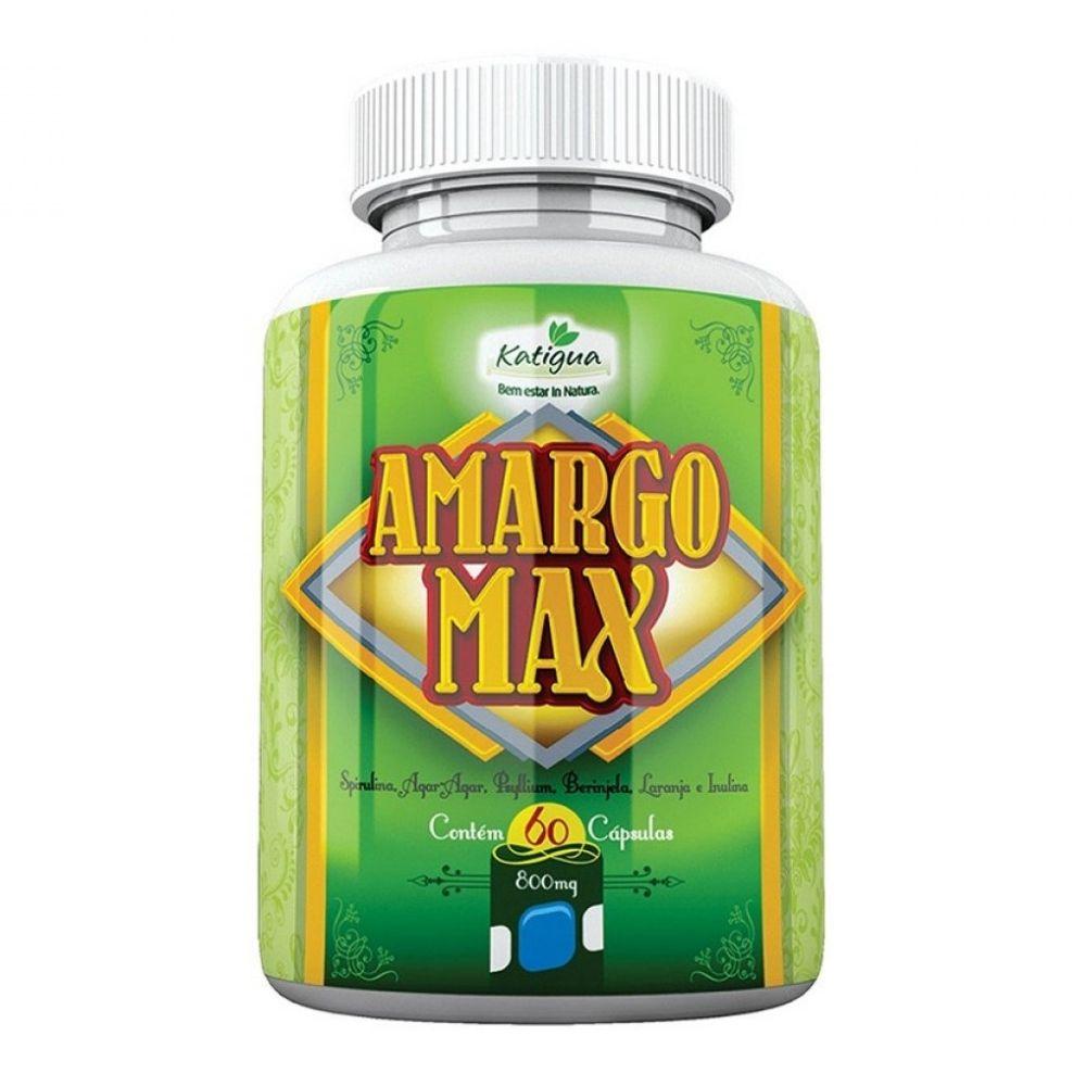 Amargo Max - 60 Cápsulas - Katiguá