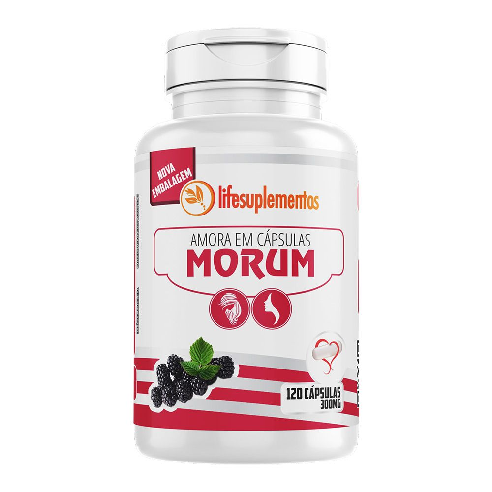 Amora - Morum - 120 Cáps. - 300mg