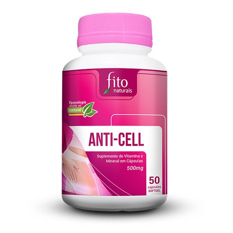 Anti-cell - 50 Cáps. - 500mg