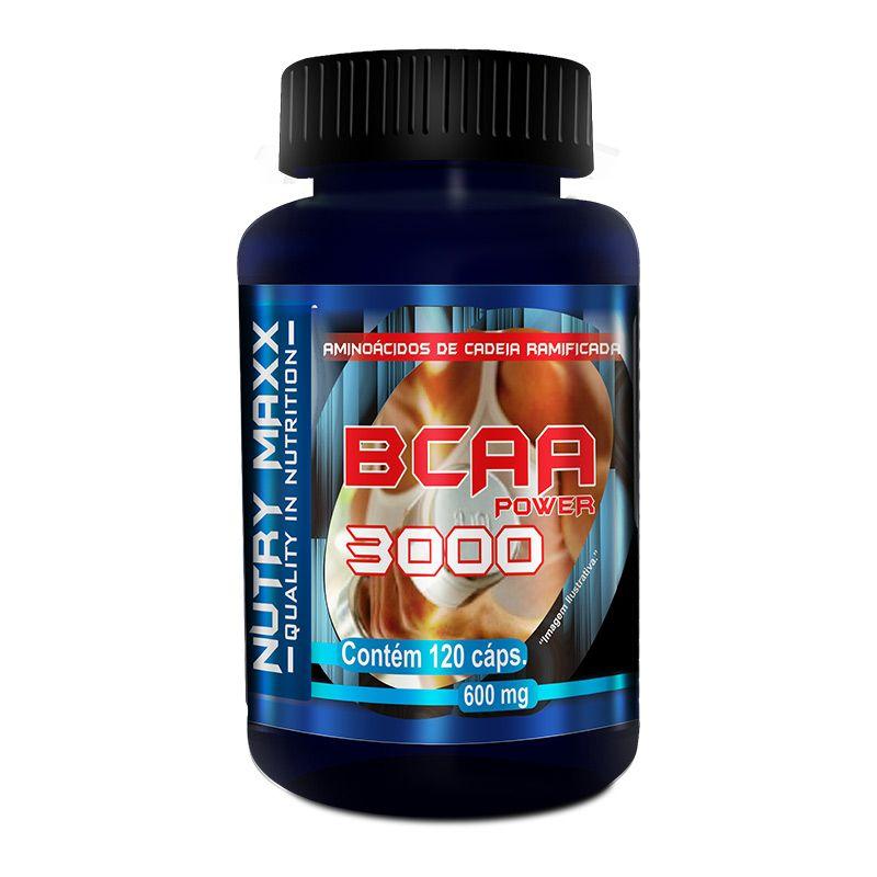 BCAA 3000 - 120 cáps. - 600mg