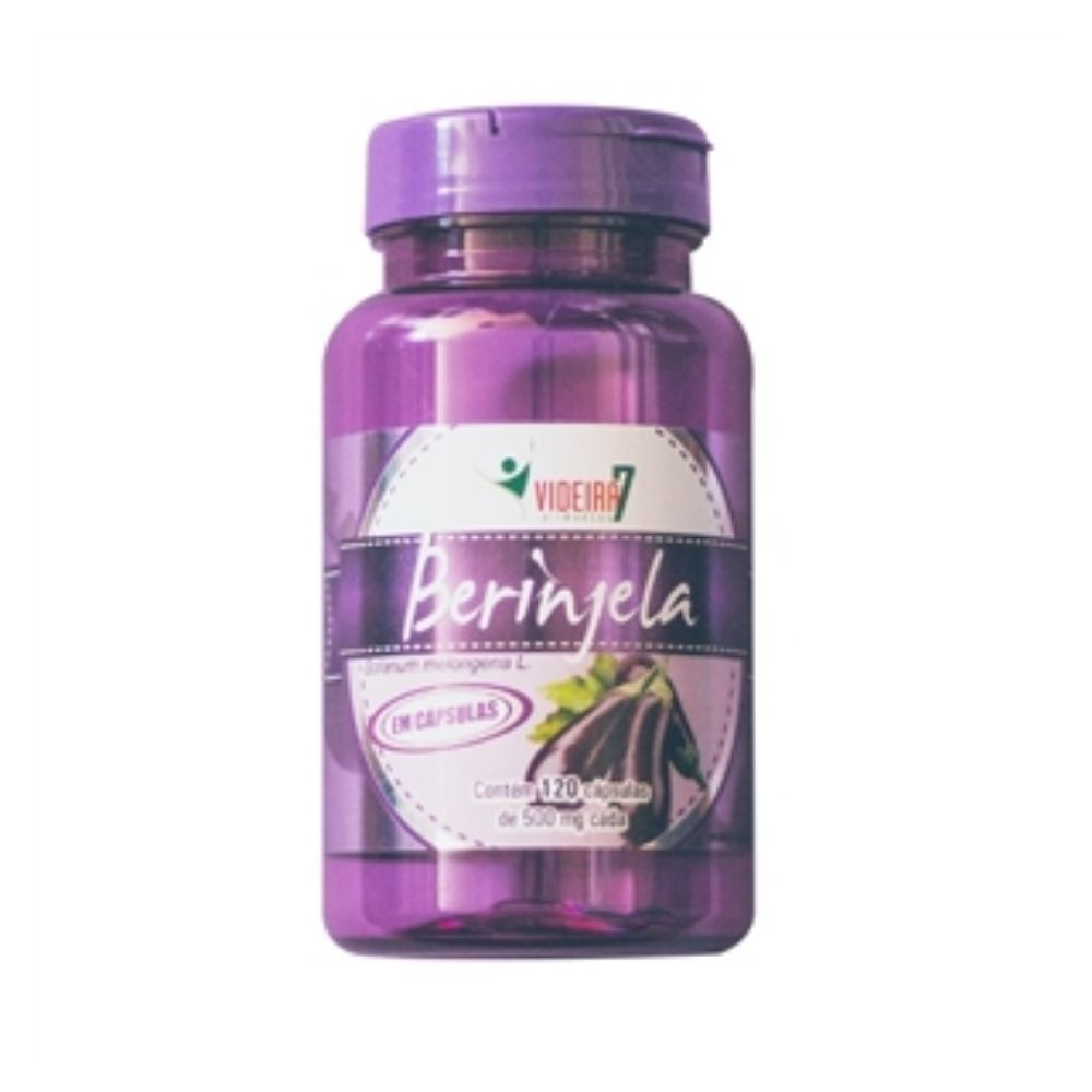 Berinjela - 120 Cápsulas - Videira 7