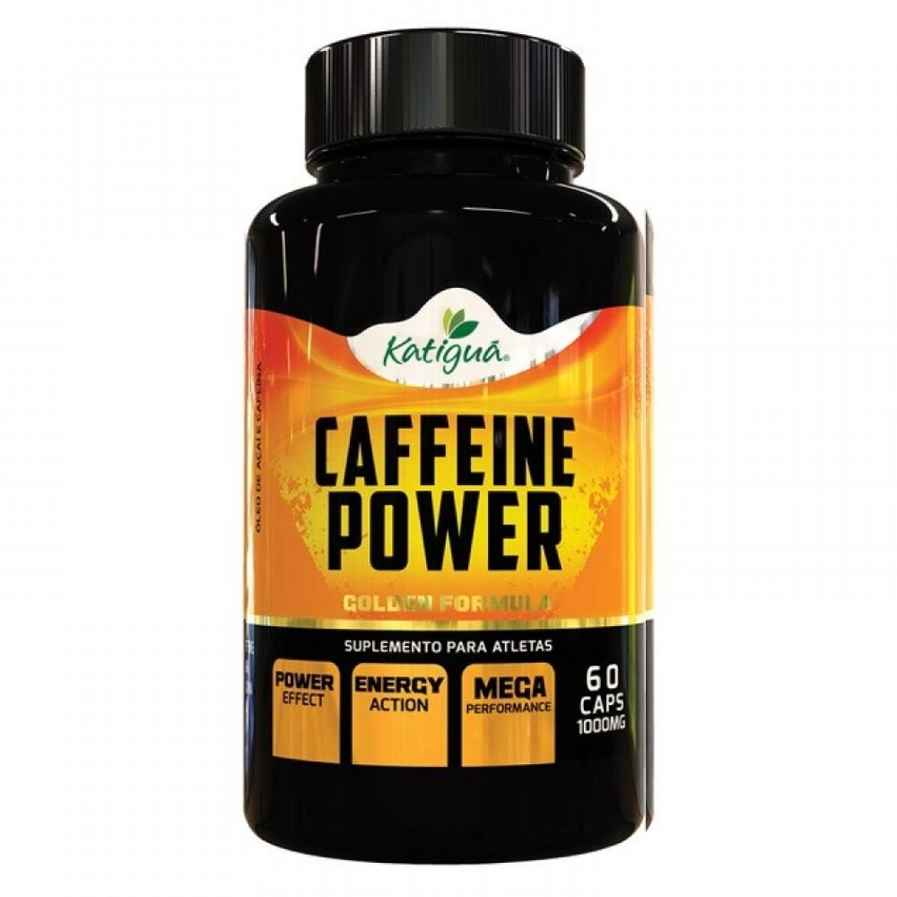 Caffeine Power - 60 Cápsulas - Katiguá