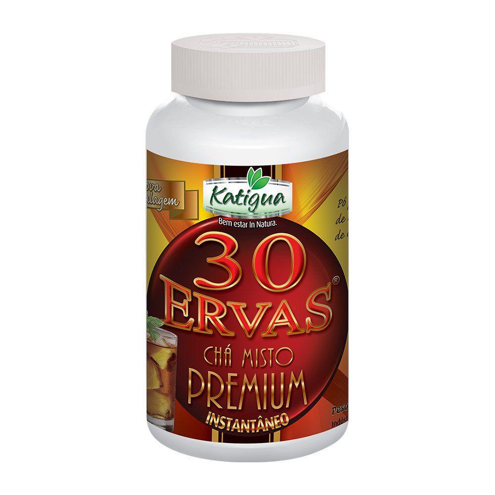 Chá 30 Ervas Premium - Instantâneo - 140g - Katiguá