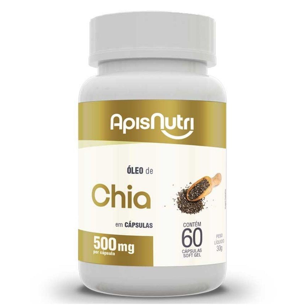 Chia - 60 Cápsulas - Apisnutri