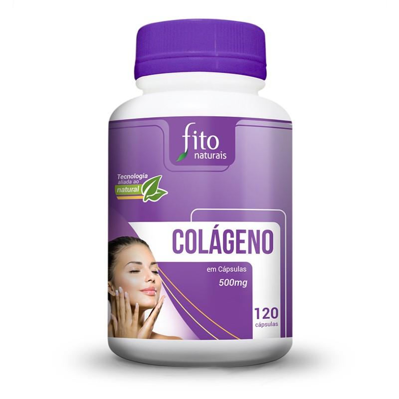 Colágeno - 120 Cáps. - 500mg