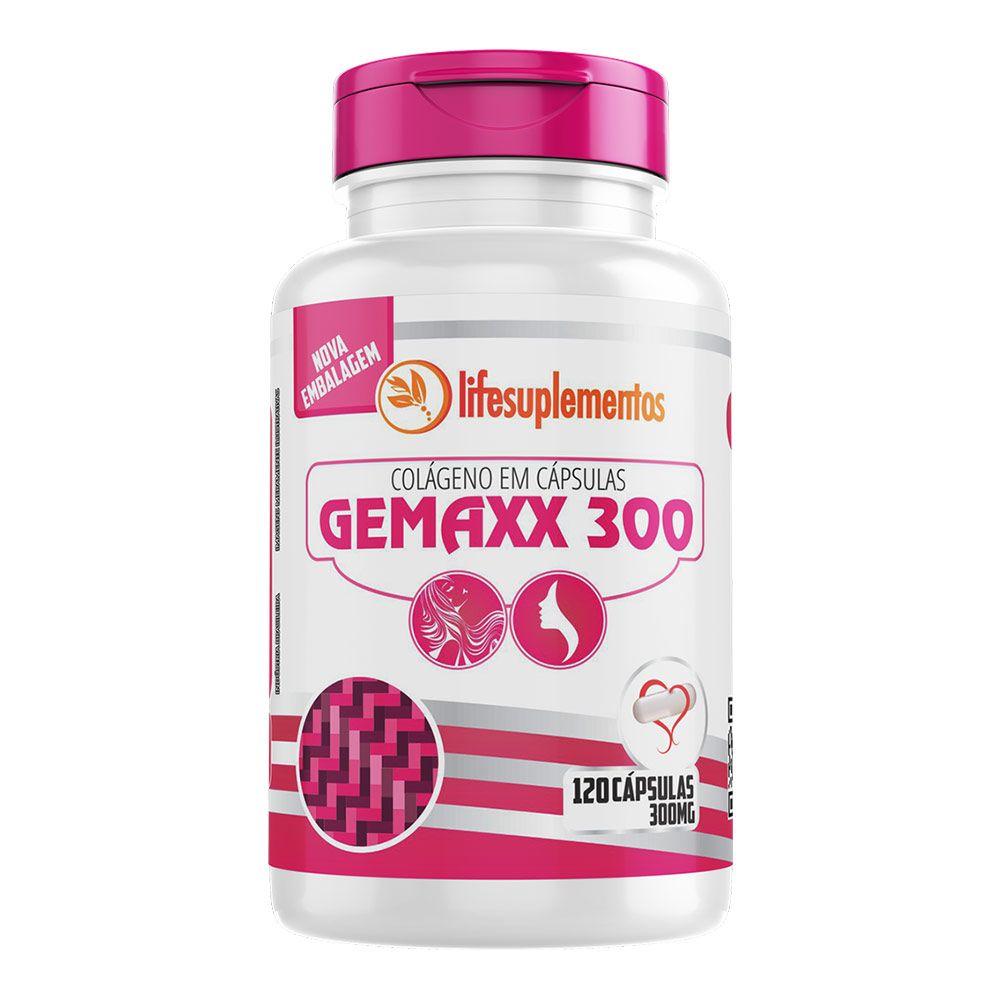 Colágeno - Gemaxx 300 - 120 Cáps. - 300mg