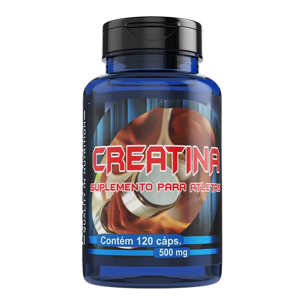 Creatina - 120 Cápsulas - Melcoprol