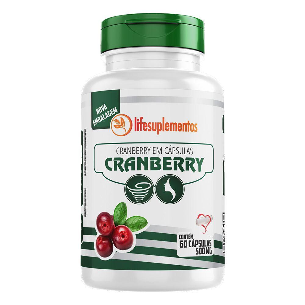 Cranberry - 60 Cáps. - 500mg