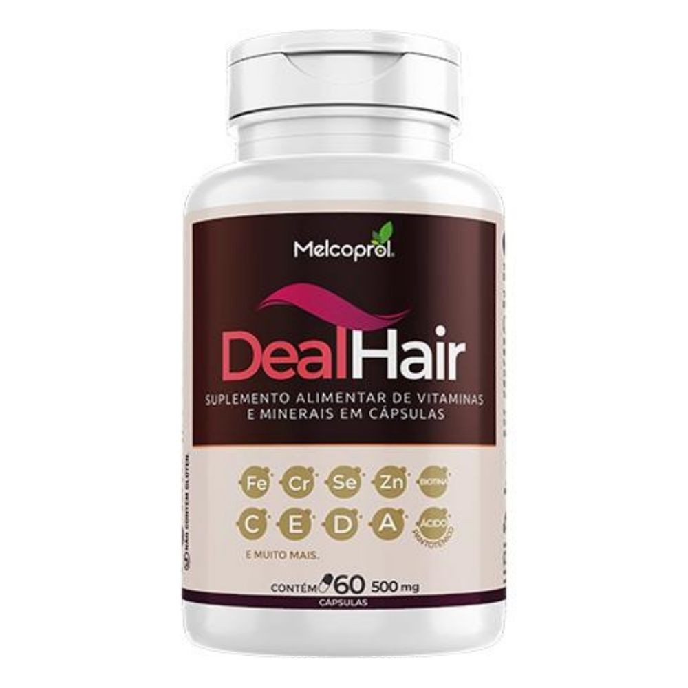 Deal Hair - 60 Cápsulas - Melcoprol